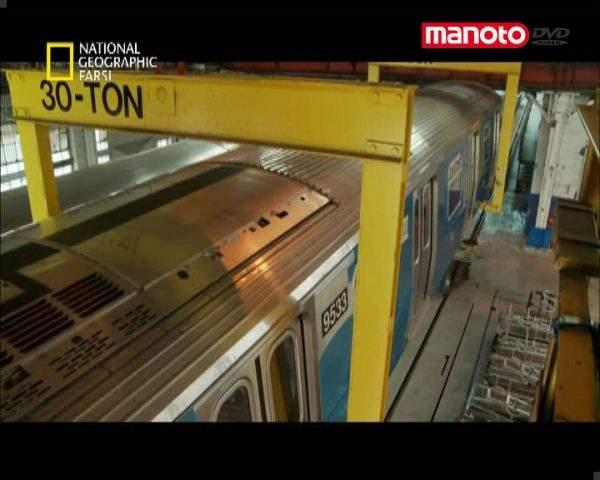 دانلود مستند متروی نیویورک از مجموعه ابرکارخانه ها