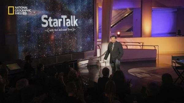 دانلود مستند استیون هاوکینگ با دوبله شبکه نشنال جئوگرافی فارسی از مجموعه گفتگو با ستارگان