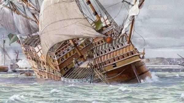 دانلود مستند کشتیهای جنگی چوبی با دوبله فارسی شبکه منوتو از مجموعه داستان کشتی های جنگی