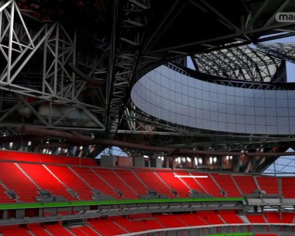 دانلود مستند ورزشگاه مرسدس بنز از مجموعه سازه های غول پیکر