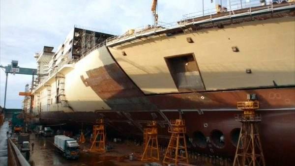 دانلود مستند کشتی غولپیکر از مجموعه سازه های غول پیکر