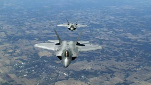 F-22 Raptors and Radar Escape from the Sky Fighter Collection