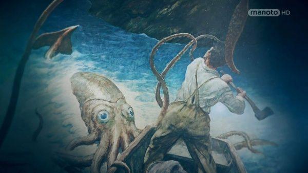 دانلود مستند هیولاهای اعماق اقیانوس از مجموعه ذهن جستجوگر من با دوبله شبکه منوتو