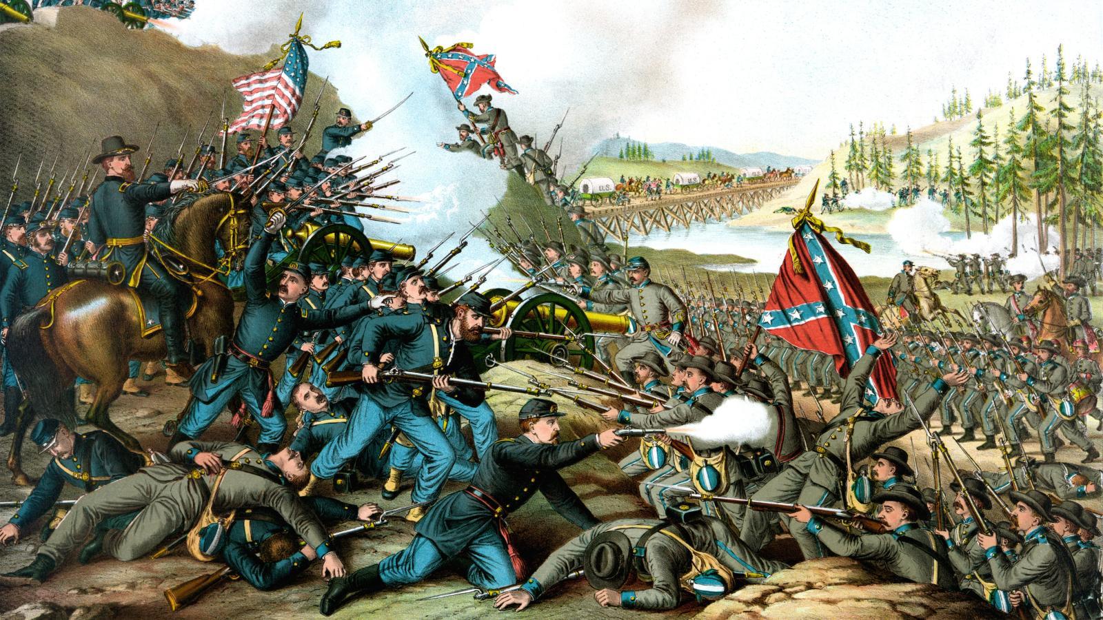 جنگ های داخلی آمریکا