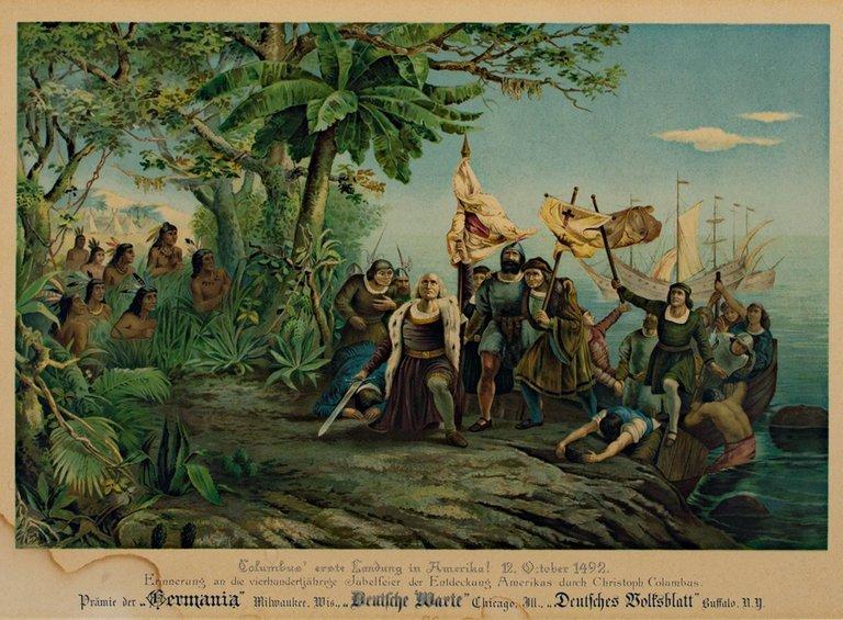 تاریخ آمریکا و کشف آمریکا توسط کریستف کلمب