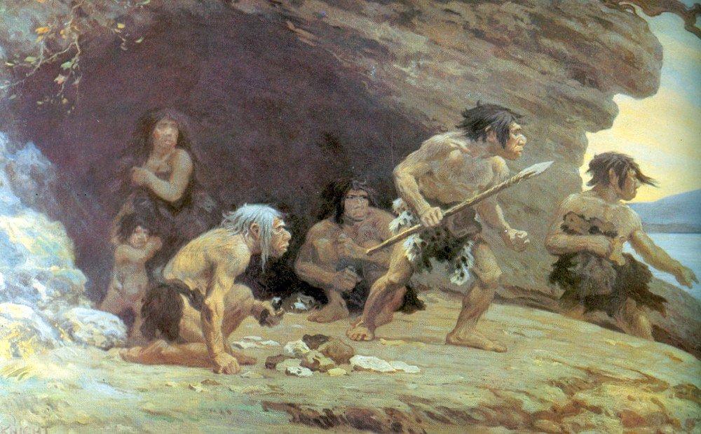 دعوای انسان های اولیه با یک دیگر