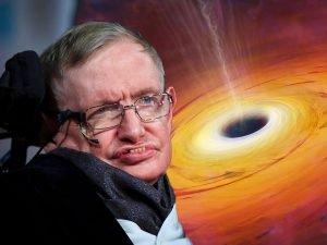 استیون هاوکینگ و سیاه چاله ها
