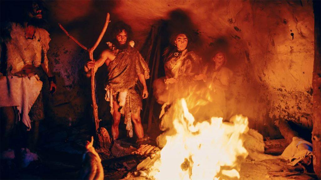 آتش در دوره انسان های اولیه